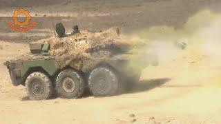 Французский колесный танк AMX-10 RC. Быстроходный триумфатор