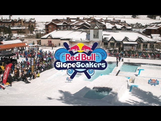 Building Red Bull Slopesoakers 2018