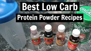 ... - ketogenic diet friendly ideas for how to use protein powders including using a shaker and 3 more recipes. w...