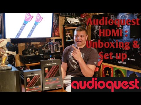 Audioquest Cinnamon HDMI : Unboxing & Set up