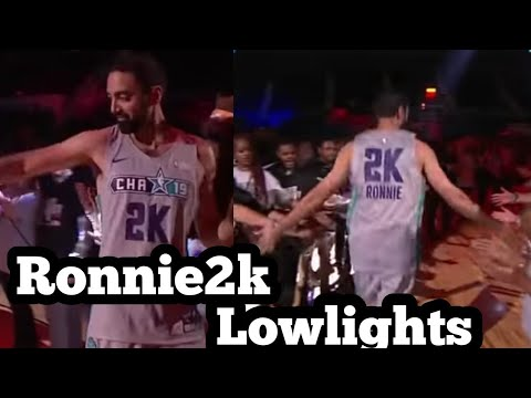 Ronnie2k NBA Celebrity All Star Game Highlights (60ovr)