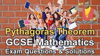 Pythagoras Theorem - GCSE Maths Exam Questions
