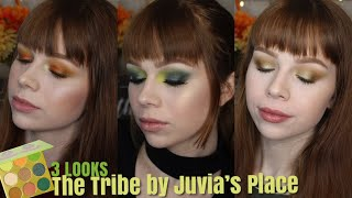 Three Looks | Juvia's Place Tribe Palette 💚