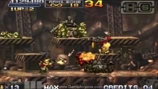 Metal Slug 7 Walkthrough - Mission 7