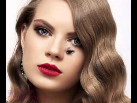 Maquillaje de dia para vestido negro con dorado