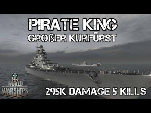 World of Warships - Pirate King - Großer Kurfürst