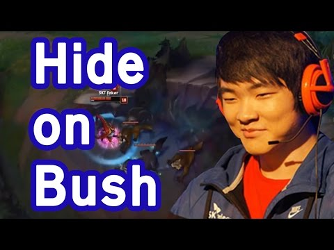 The Reason why Faker is called Hide On Bush