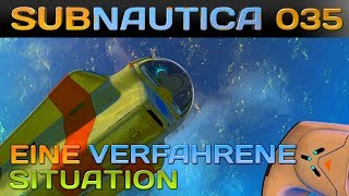🌊 SUBNAUTICA [035] [Eine verfahrene Situation] Let's Play Gameplay Deutsch German thumbnail
