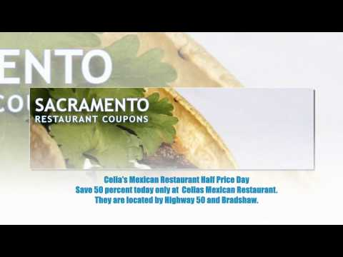 Sacramento Restaurant Coupons – Save some money find free and half off restaurant discounts