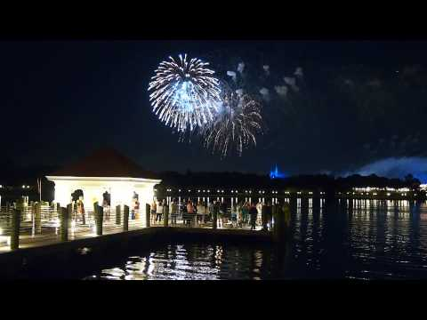 Wishes Fireworks from Grand Floridian