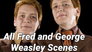 Fred George Moments Harry Potter
