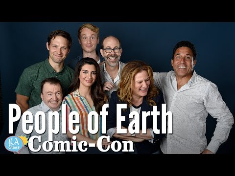 "The ""People Of Earth"" Cast Is Hoping To Be Abducted... By Aliens: Comic-Con 