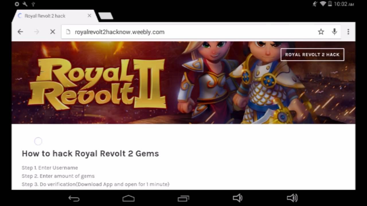 royal revolt 2 hack download pc