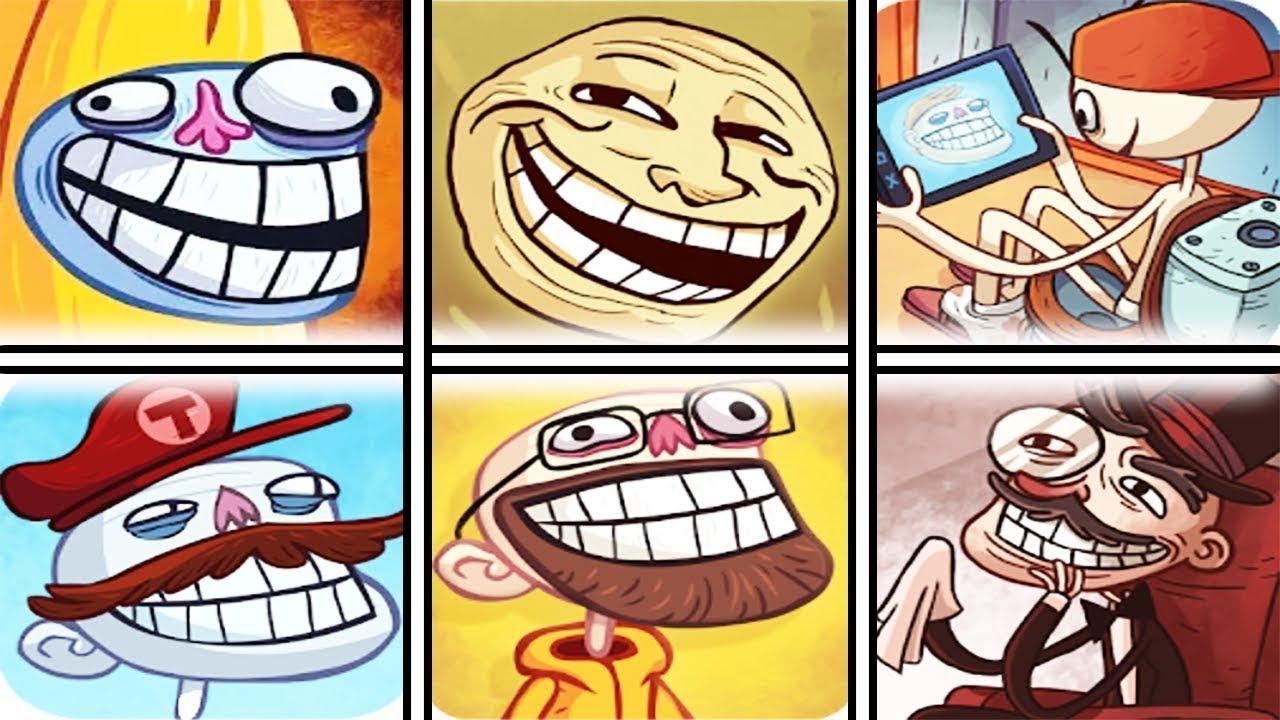 Troll Face Internet Memes All Version Funny Troll ...