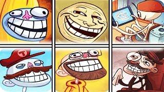 Troll Face Internet Memes All Version Funny Troll Compilation 2017