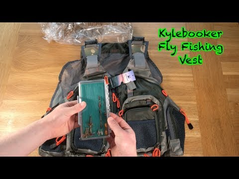 Kylebooker Fly Fishing Vest Unboxing