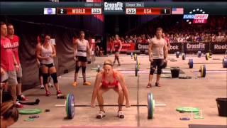 CrossFit 2013  Берлин Германия  Команды   США против Остального мира