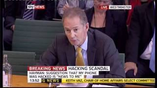 Policeman Andy Hayman goes ballistic in Keith  Vaz Select committee