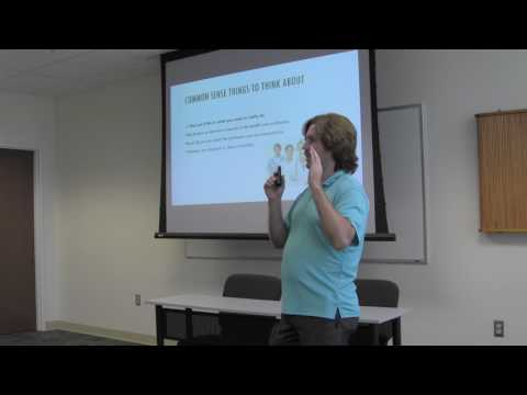 MSSU Project Stay Workshop:  How to Prepare and Succeed in Health Profession Programs Part 1 of 2