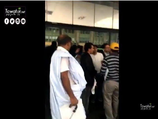 أعضاء من الجالية الموريتانية بأمريكا يحتجون أمام مقر إقامة ولد عبد العزيز في نيورك
