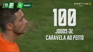 100 jogos de Nelson Monte pelo Rio Ave FC