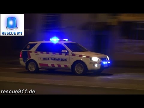 [Melbourne] Ambulance services of Victoria (collection)