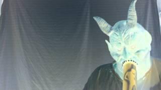bong rip Demon mask
