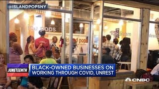 Black-owned businesses disproportionately affected by the economic shutdown