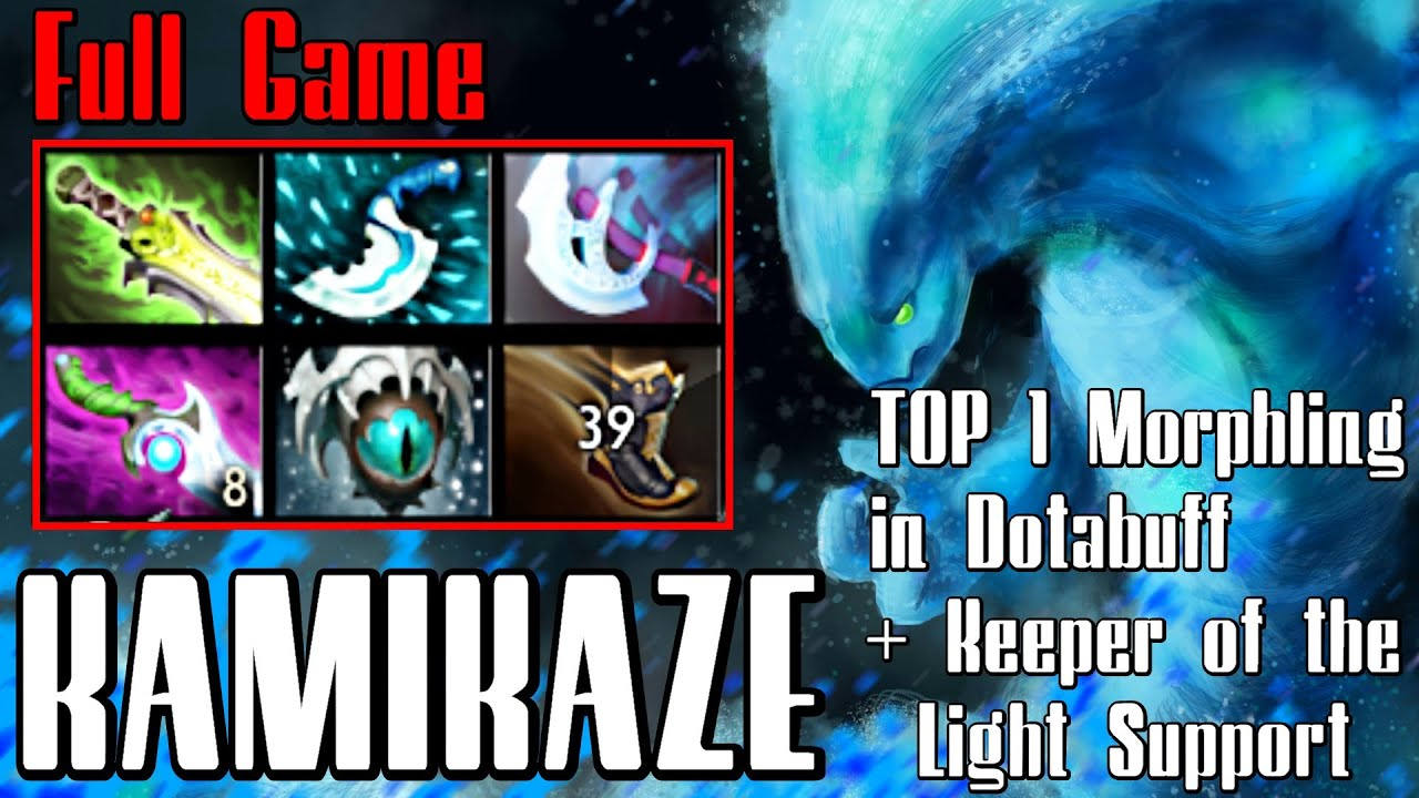 kamikaze morphling dota 2 full game top 1 morphling in dotabuff