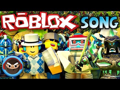 "ROBLOX SONG ""Create"" (Roblox Music Video) by TryHardNinja"