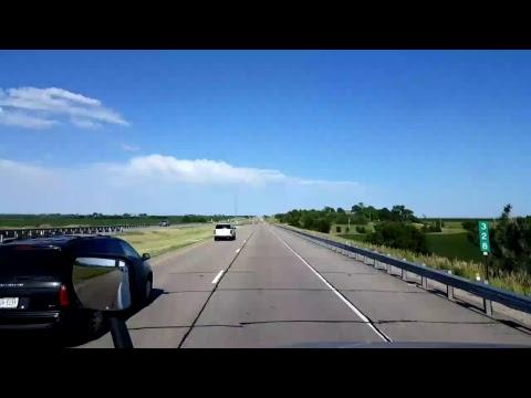 BigRigTravels LIVE! North Platte to near Aurora, Nebraska Interstate 80 East July 2, 2017