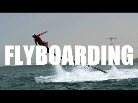 FLYBOARDING ABU DHABI 2014