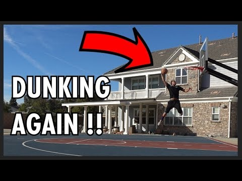 FINALLY BACK TO DUNKING!! Thanksgiving Vlog!!