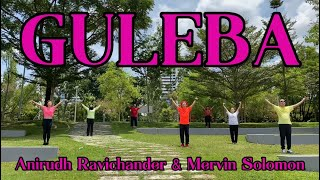 Cover images GULEBA by Anirudh Ravichander & Mervin Solomon - A SteadyASIA Dance Fitness Choreography