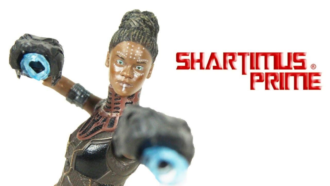 Marvel Legends Shuri Hulk Black Panther Avengers IN BOX NEVER USED NO BAF