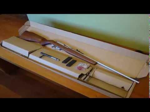 Unboxing do Rifle CBC 8022 em .22 LR - YouTube