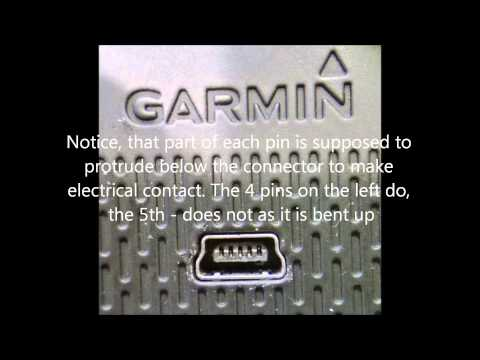 Garmin 1490 LMT GPS Power Off USB Cable Shut Down Issue   THE CAUSE