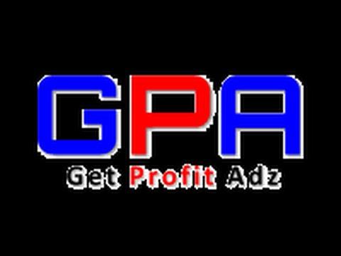 █ TUTORIAL █ Online Geld verdien mit Get profit adz ! GPA 2.0