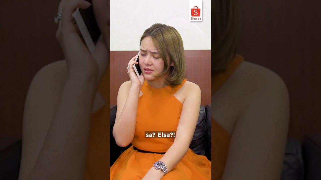Elsa Matiin Telpon Andin?   BESOK MALAM Segmen Ikatan Cinta Live di RCTI #ikatancinta #shorts