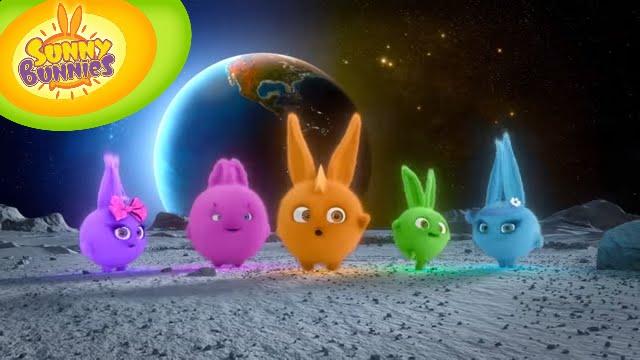 Sunny Bunnies 105 - Bunnies on the Moon