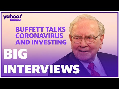 Warren Buffett on coronavirus fears: I won't be selling stocks