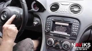 2011 Mercedes Benz SL Class R230 NAViKS Vide In Motion Bypass