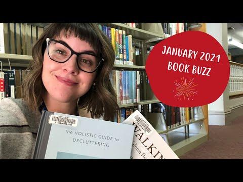 Flint Memorial Library January 2021 Book Buzz