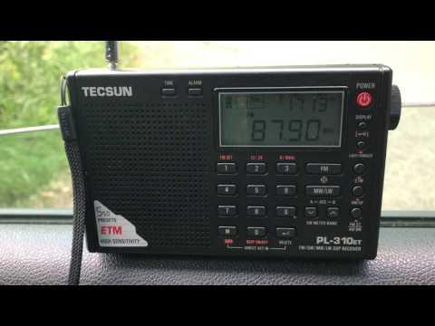 FM DX via Sporadic-E: Sveriges Radio P1, 87.9 MHz, Stockholm, Sweden