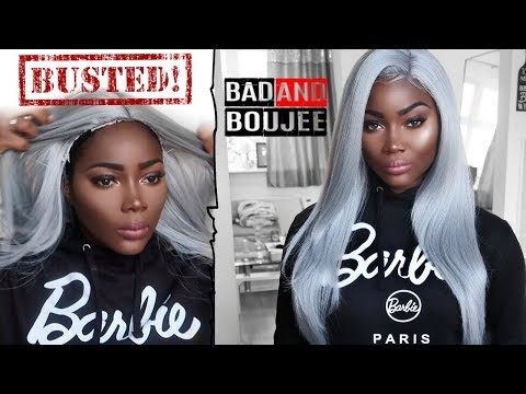 HOW TO TRANSFORM A $30 SYNTHETIC WIG IN 5 MINS!  | SLEEK WIG DRAYA
