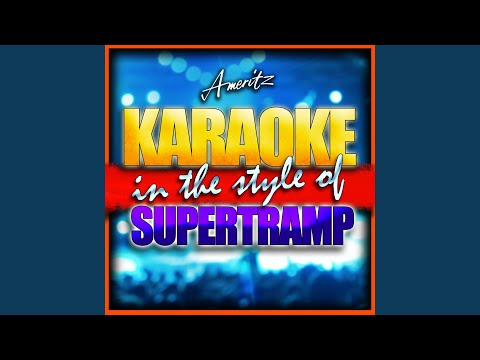 Lover Boy [In the Style of Supertramp] [Karaoke Version]