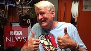Charles Martinet: The voice of Super Mario - BBC News