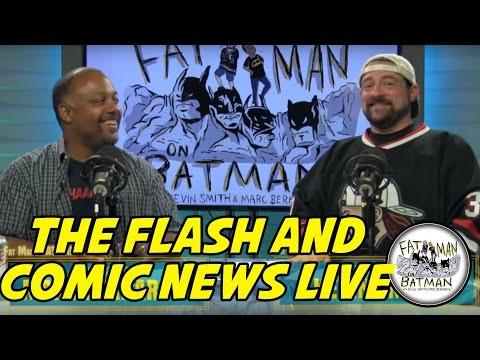 THE FLASH AND COMIC NEWS LIVE
