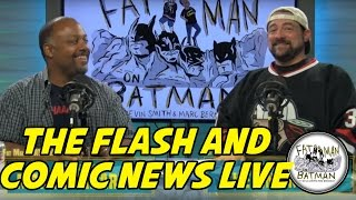 THE FLASH AND COMIC NEWS LIVE