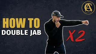 Boxing | How to Double jab Correctly {common mistakes}